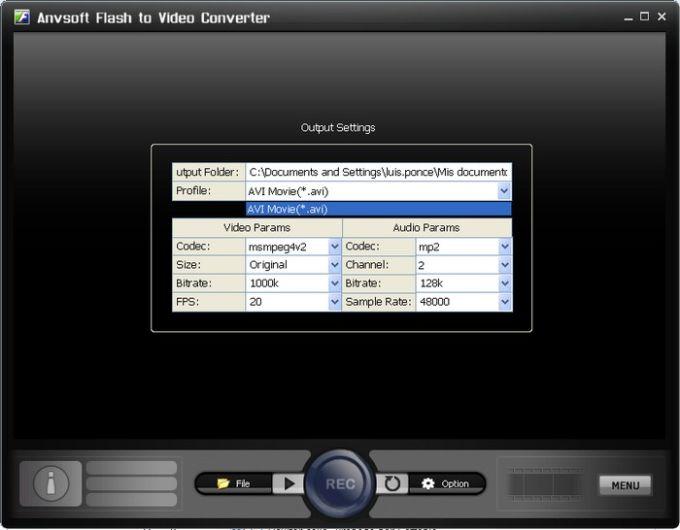 Anvsoft Flash to Video Converter