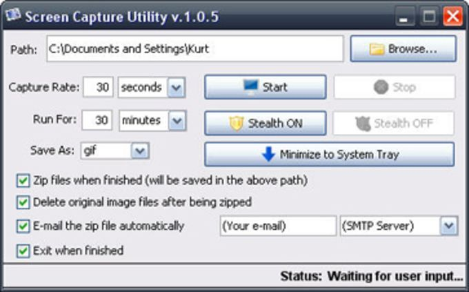 Screen Capture Utility
