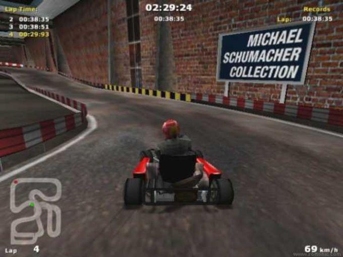 Michael Schumacher Kart Challenge