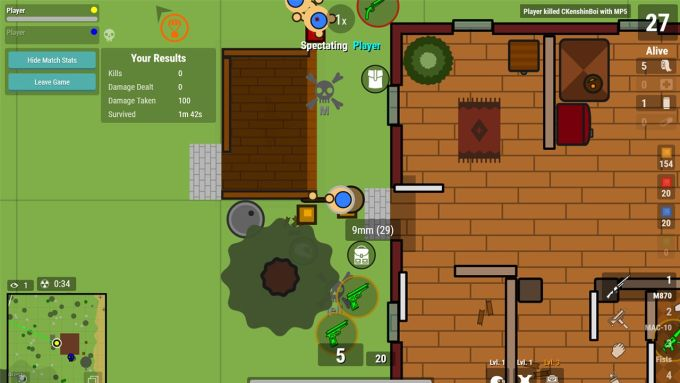 Surviv.io: Multiplayer Battle Royale Game