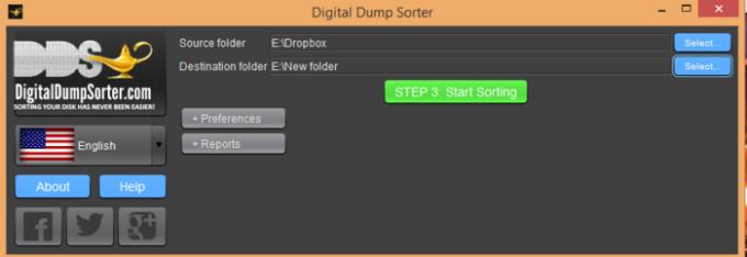 Digital Dump Sorter