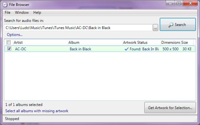 Album Art Downloader