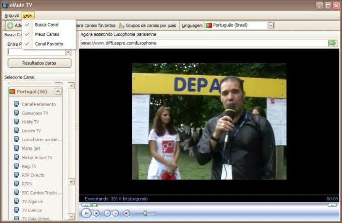 eMuleTV