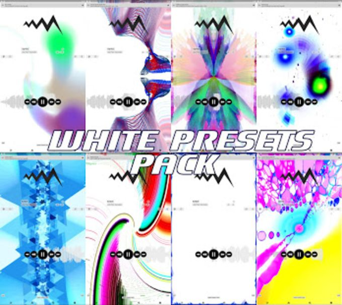 WHITE POWERAMP VISUALIZATION