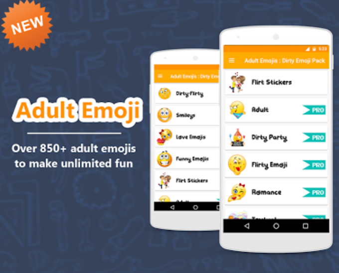 Adult Emojis : Dirty Emoji Pack
