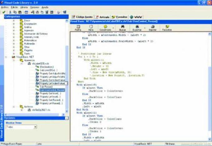 Visual Code Library