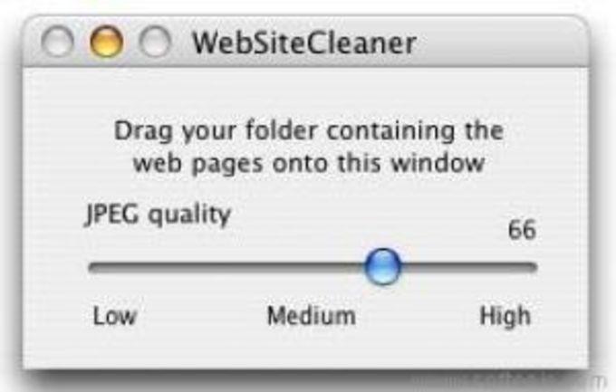 WebsiteCleaner