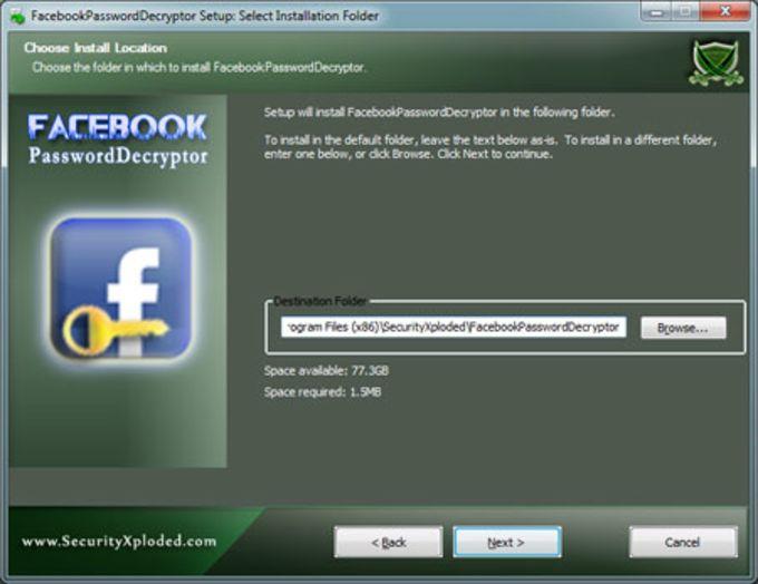 FacebookPasswordDecryptor