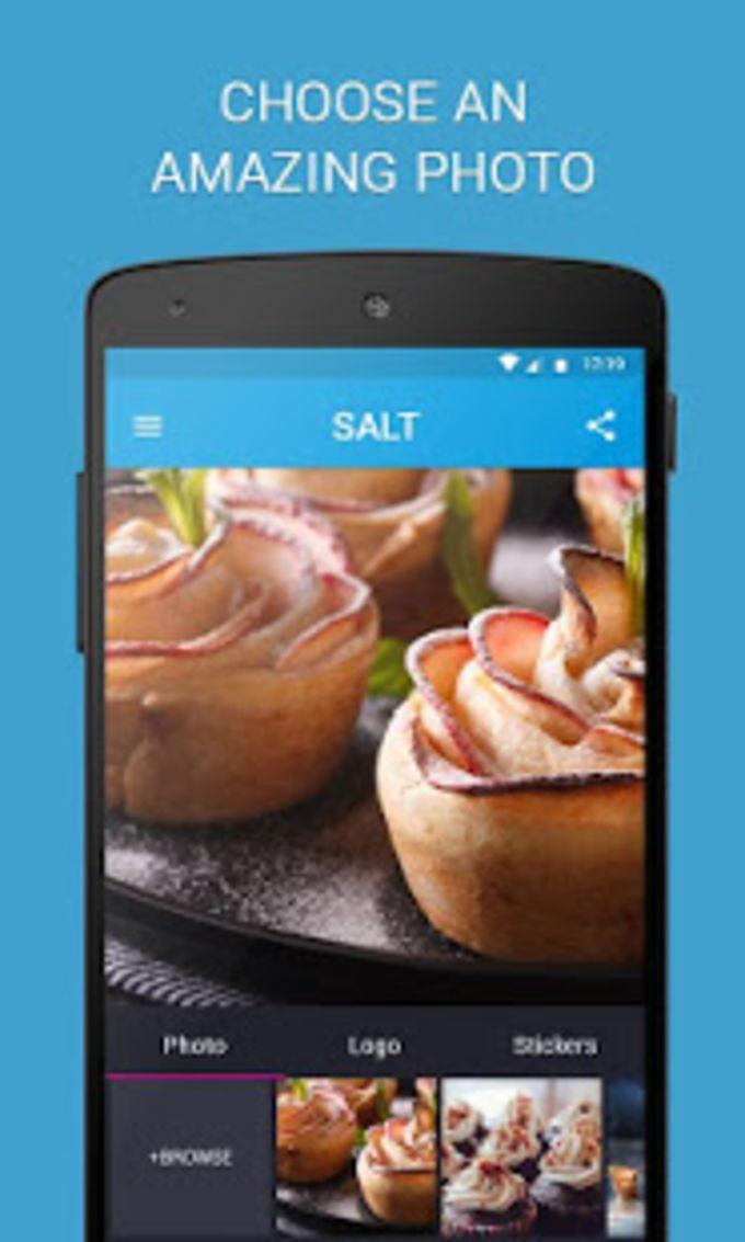 SALT - Watermark resize  add text to photos