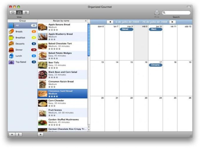 Organized Gourmet