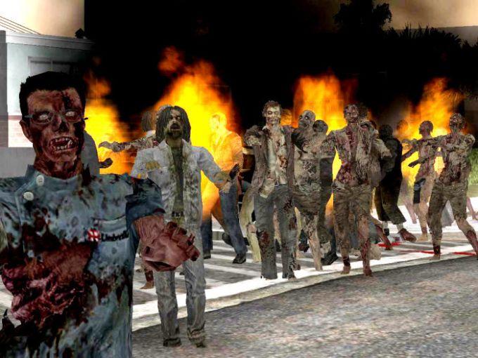 GTA: San Andreas Zombie Alarm Mod