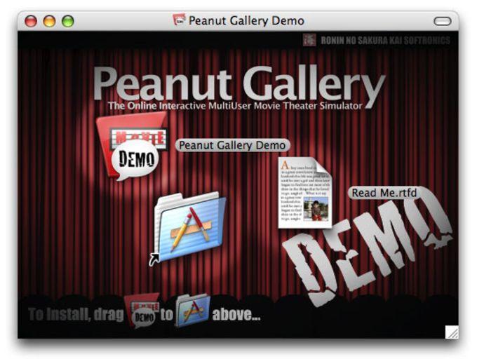 Peanut Gallery: The Demo