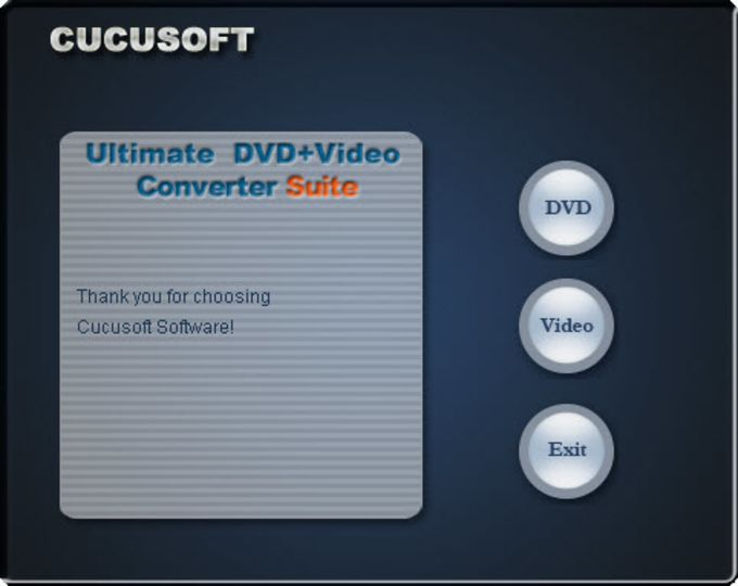 Cucusoft Ultimate DVD and Video Converter Suite
