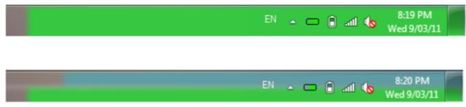 RAM CPU Taskbar for Windows 7
