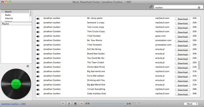 Music Download Center