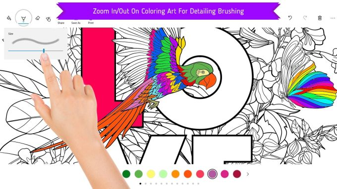 Coloring Books For Adults And Kids AntiStress Relaxing Artistic Mandalas