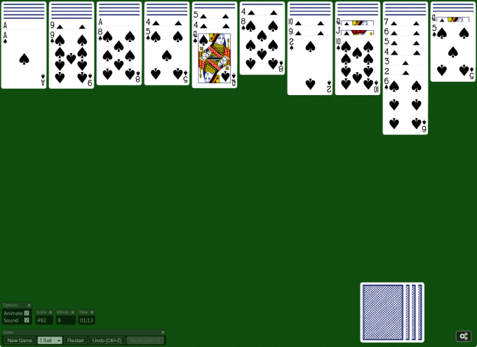 Spider Solitaire ! für Windows 10