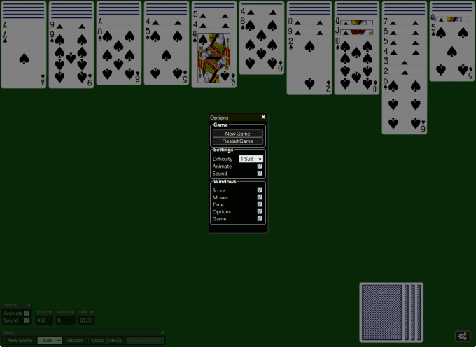 Spider Solitaire! per Windows 10