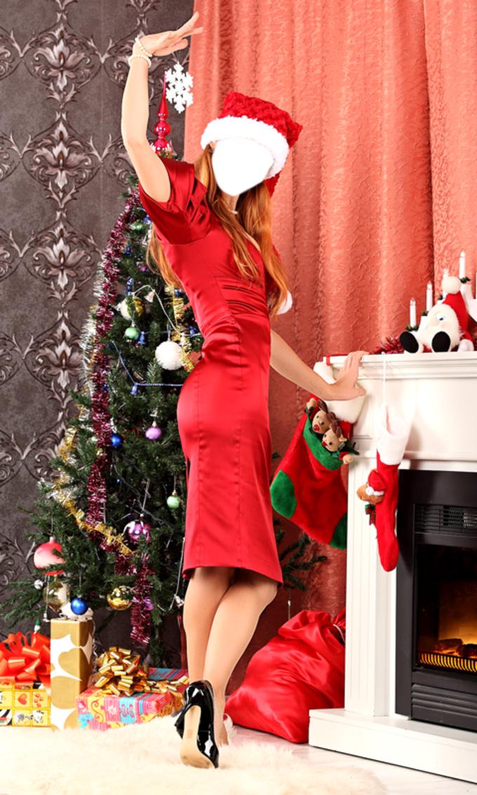 Christmas Girls Photo Montage