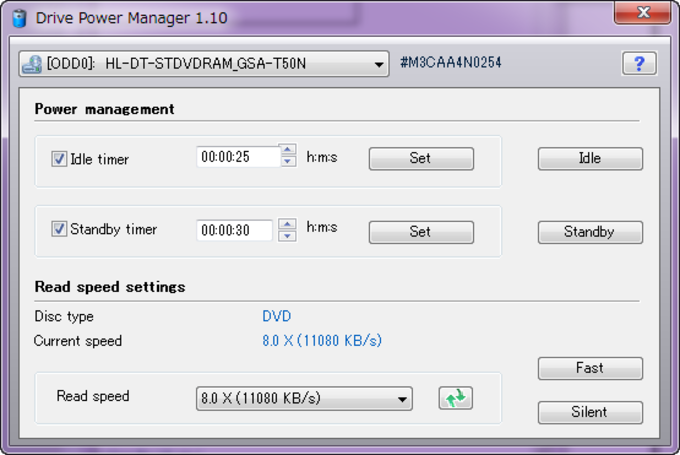 Drive Power Manager