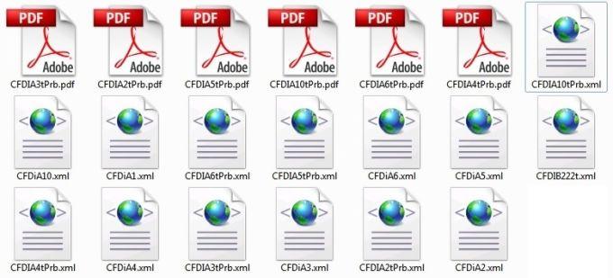 Convertidor masivo de xml a pdf facturas
