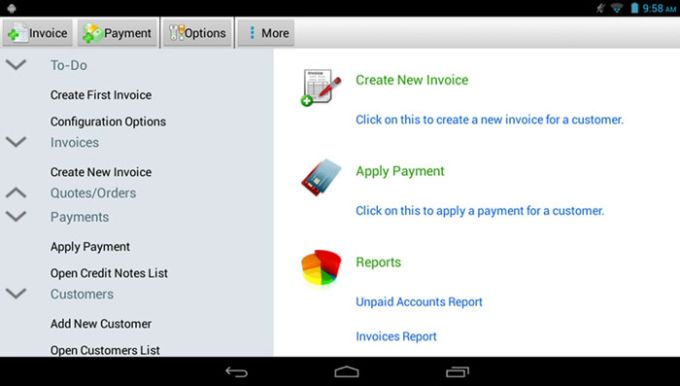 Express Invoice Invoicing Free For Android Download - Invoice software android