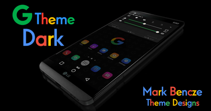 G Theme Dark for LG V20 & G5