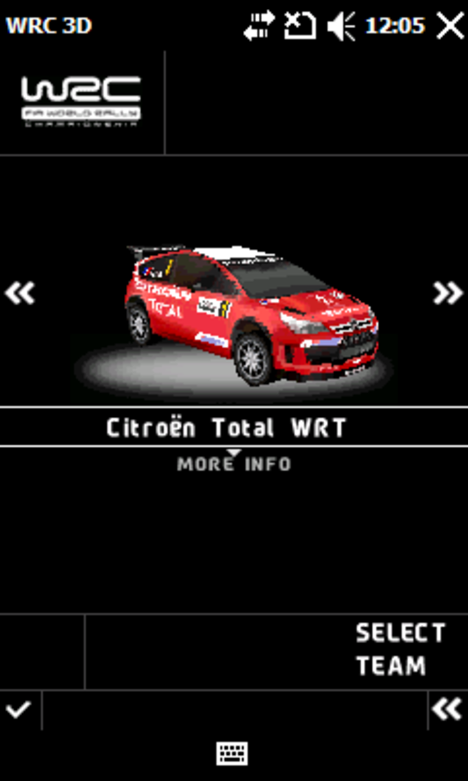 WRC 3D FIA World Rally Championship