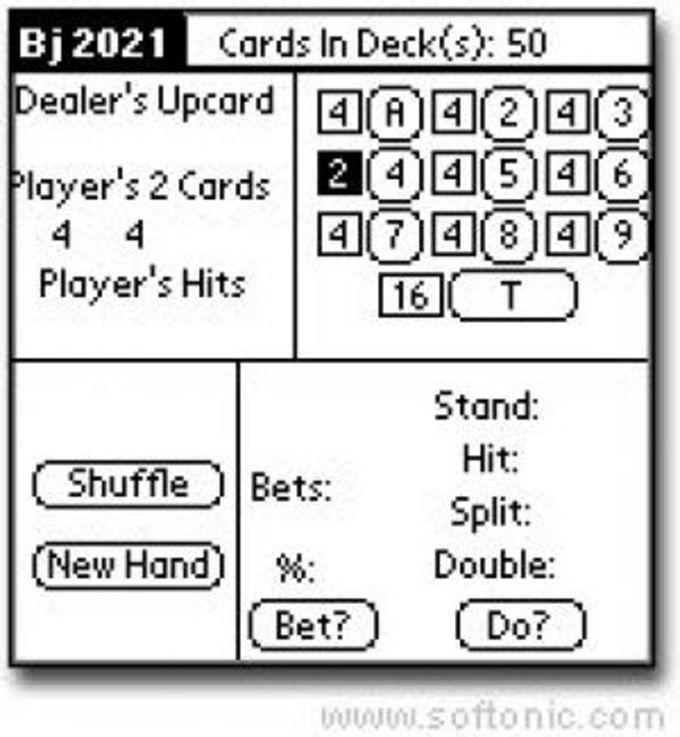 Blackjack 2021 Real Time Analyzer