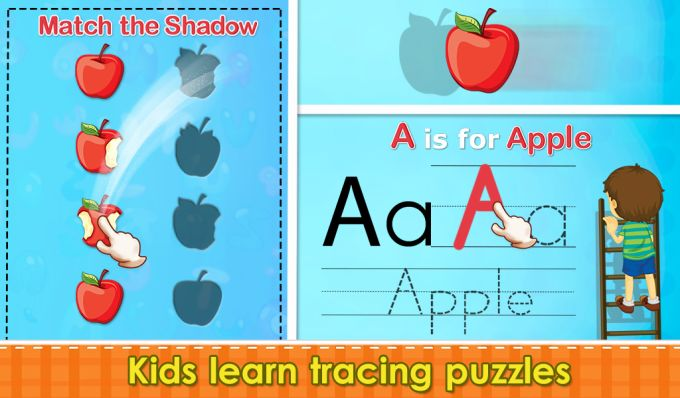Preschool Tracing Puzzles