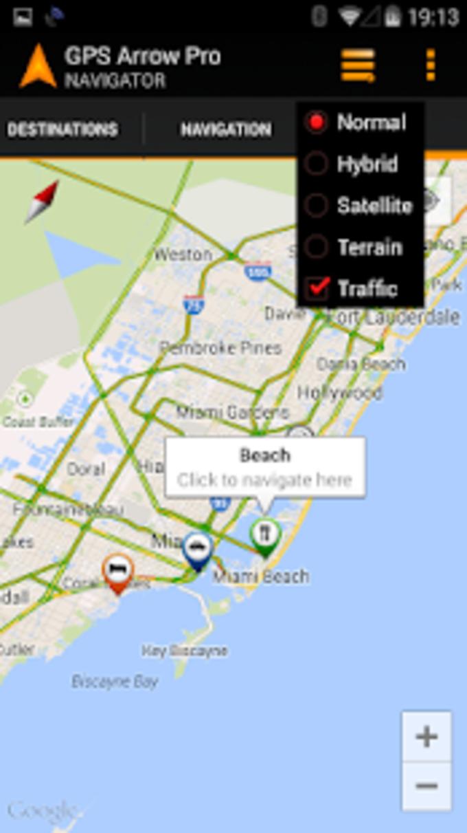 GPS Arrow Navigator PRO