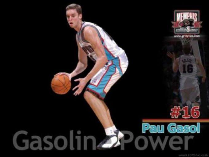 Pau Gasol - Gasoline Powered Wallpaper