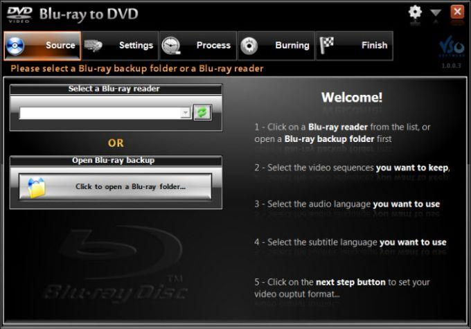 Blu-ray to DVD Converter