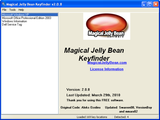 Magical Jelly Bean Keyfinder Portable