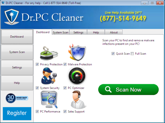 Dr PC Cleaner