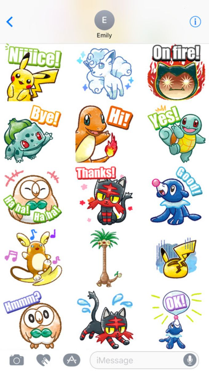 Pokemon Chat Pals