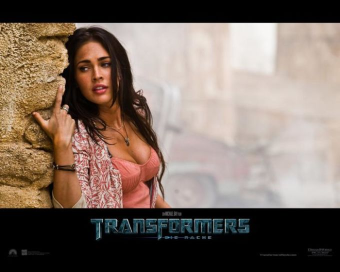 Transformers - Die Rache Wallpaper: Megan Fox