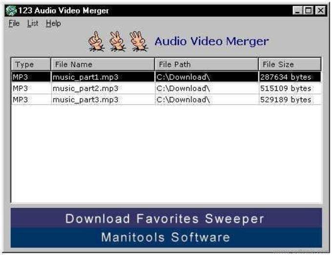 123 Audio Video Merger