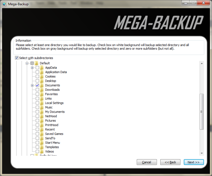 Mega-Backup