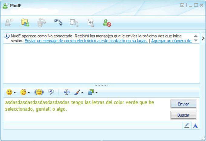 MSN Font Color Editor