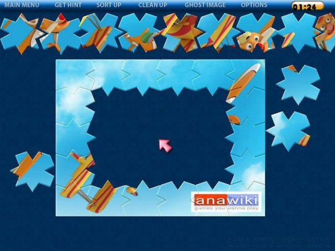 Anawiki Puzzle Game
