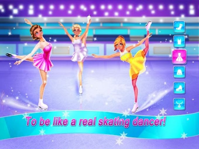 Ice Skating Ballerina Dance