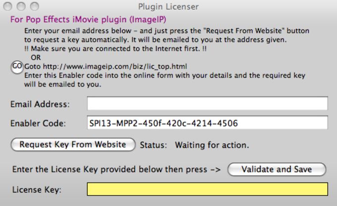 iMovie Pop Effects Plug-In