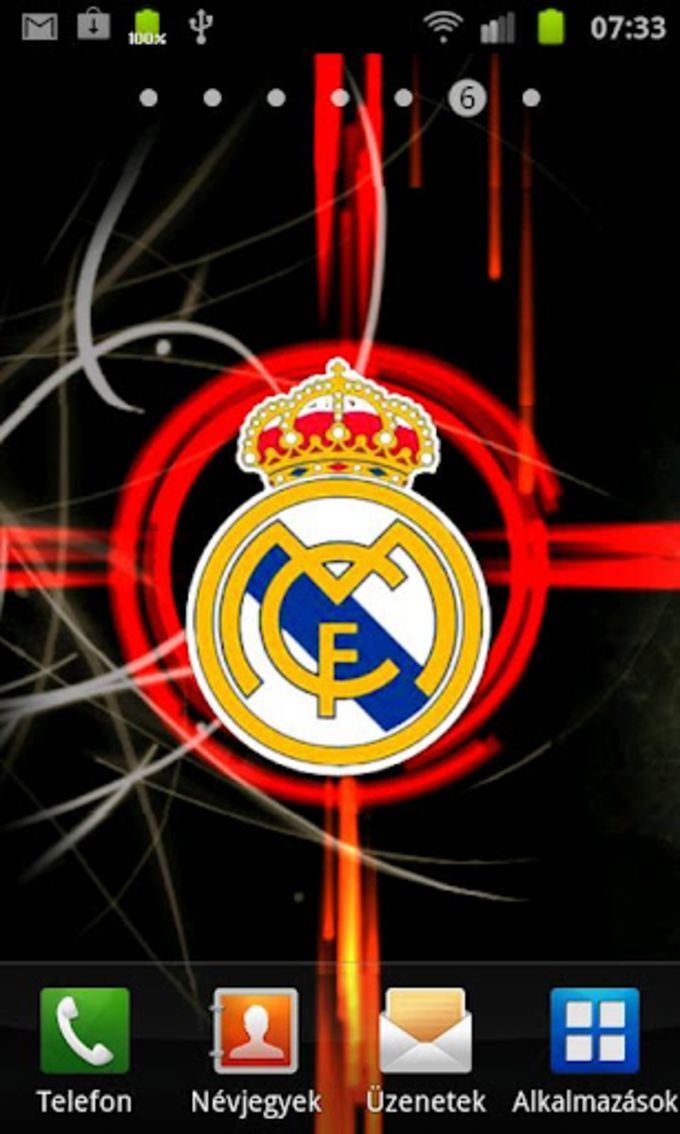 Real Madrid Live Wallpaper