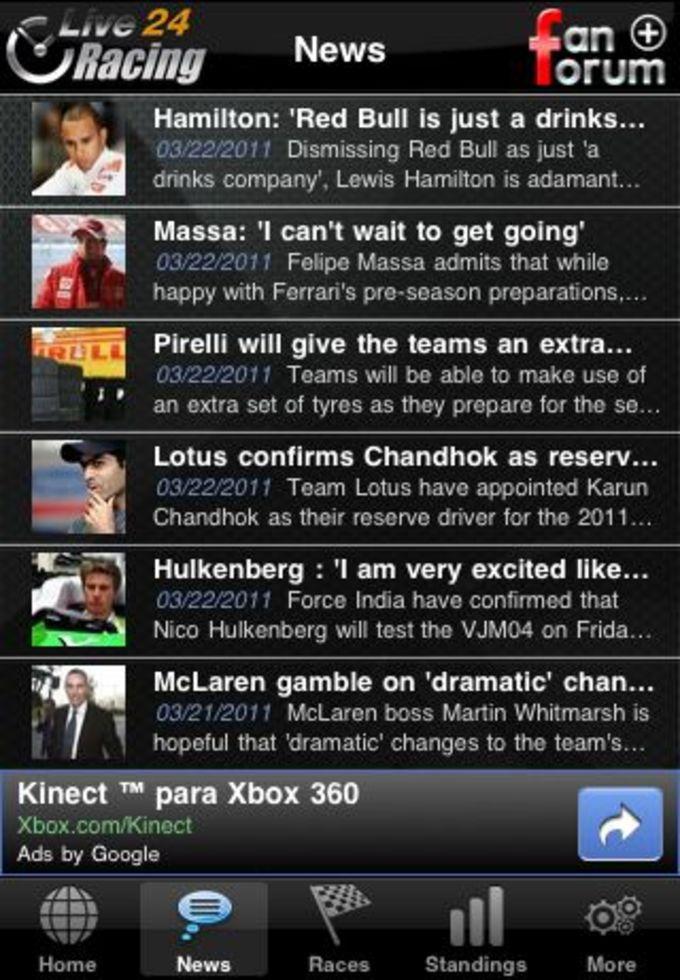 F1 2011 Live24