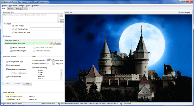 Automatic Image Downloader