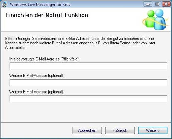 Windows Live Messenger für Kids