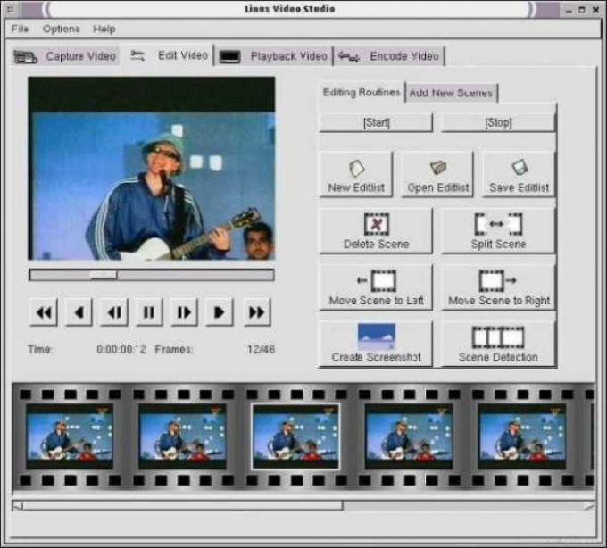 Linux Video Studio