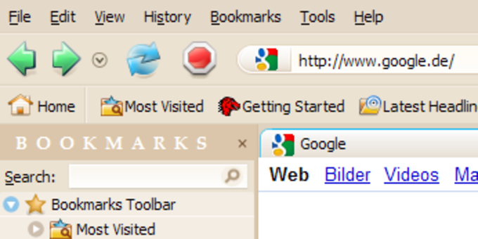 Charamel Theme for Firefox