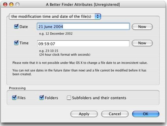 A Better Finder Attributes